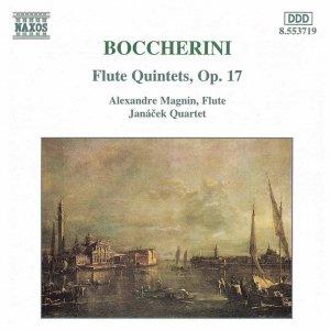 """""""BOCCHERINI: Flute Quintets, Op. 17""""的图片"""