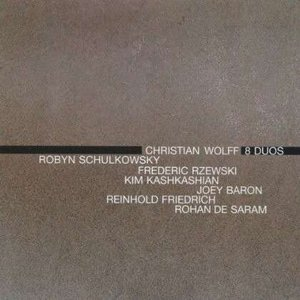 Image for 'Christian Wolff: 8 Duos'