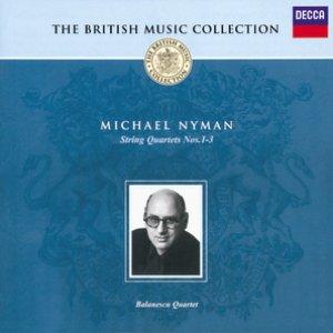 Imagen de 'Nyman: String Quartets Nos.1-3'