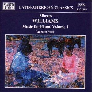Image for 'WILLIAMS: Piano Music, Vol.  1'