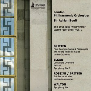 Image for 'London Philharmonic Orchestra, The 1956 Nixa-Westminster Stereo Recordings, Vol. 1'