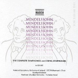 Image for 'MENDELSSOHN: Complete Symphonies and String Symphonies'