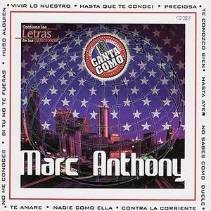 Image for 'Canta Como: Marc Anthony'