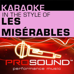 Imagen de 'Karaoke - In the Style of Les Miserables (Professional Performance Tracks)'
