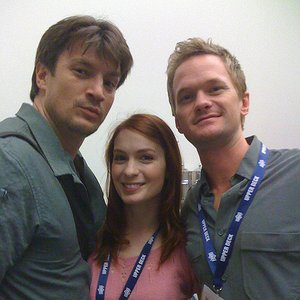 Image for 'Neil Patrick Harris, Felicia Day & Nathan Fillion'