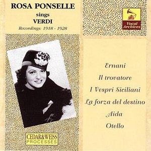 Image for 'Rosa Ponselle: The Verdi Recordings (1918-1928)'
