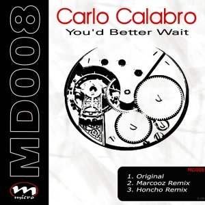 Image for 'Carlo Calabro - You'd Better Wait'