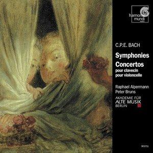 Image for 'C.P.E. Bach: Symphonies & Concertos'