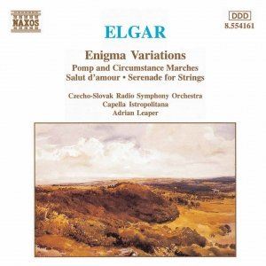 Bild für 'ELGAR: Enigma Variations / Pomp and Circumstance Marches Nos. 1 and 4 / Serenade for Strings'