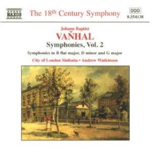 Image for 'Vanhal: Symphonies, Vol. 2'