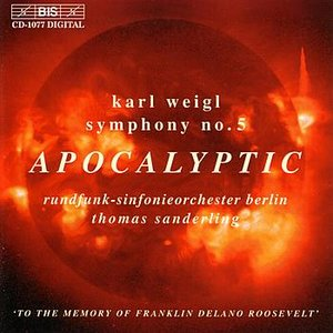 Imagem de 'WEIGL: Symphony No. 5 / Phantastisches Intermezzo'