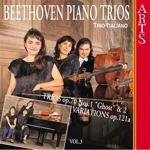 Image for 'Beethoven: Piano Trios Vol. 3'