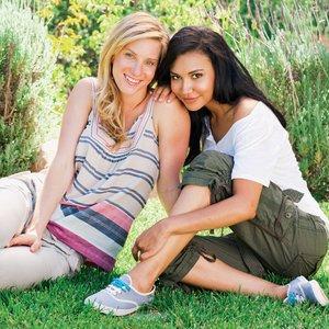 Image for 'Heather Morris & Naya Rivera'