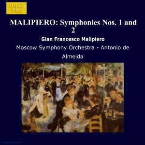 Image for 'MALIPIERO: Symphonies Nos. 1 and 2'