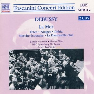 Image for 'DEBUSSY: La Mer / Nuages / Iberia (Toscanini Concert Edition)'