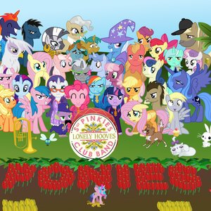 Imagen de 'Sgt. Pinkie's Lonely Hooves Club Band'
