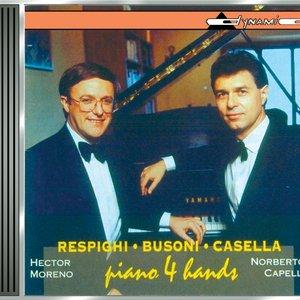 Image for 'Respighi: Suite Della Tabacchiera / Fontane Di Roma / 6 Pezzi Per Bambini / Busoni: Finnlandische Volksweisen / Casella: Pagine Di Guerra'