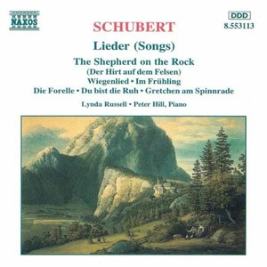 Image for 'Lieder (Songs) (feat. soprano: Lynda Russell, piano: Peter Hill)'