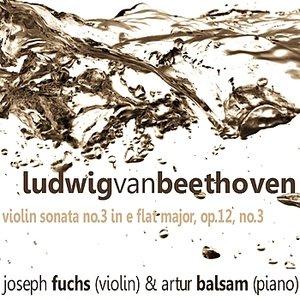 Image for 'Violin Sonata No. 3 in E-Flat Major, Op. 12 No. 3: II. Adagio con molt'espressione'