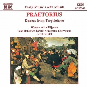 Immagine per 'PRAETORIUS: Dances from Terpsichore'