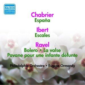 Image for 'Ravel: Bolero / La Valse / Pavane Pour Une Infante Defunte / Ibert: Escales / Debussy: Clair De Lune / Chabrier: Espana (Ormandy) (1953-1954)'