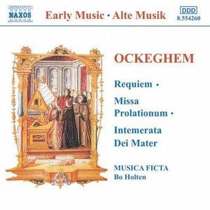 Image for 'Requiem / Missa Prolationum / Intemerata Dei Mater (Musica Ficta feat. conductor: Bo Holten)'