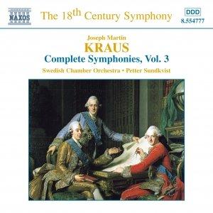 Image for 'KRAUS: Symphonies, Vol.  3'