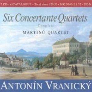 Image for 'Six Concertante Quartets'