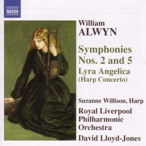 Image for 'ALWYN: Symphonies Nos. 2 and 5 / Harp Concerto, 'Lyra Angelica''
