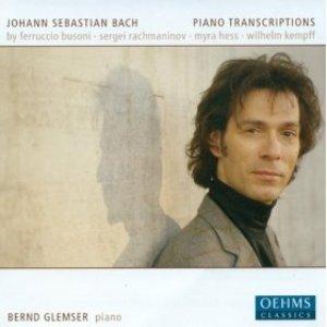 Image for 'Bach, J.S.: Piano Transcriptions by Busoni, Rachmaninov, Kempff and Hess'