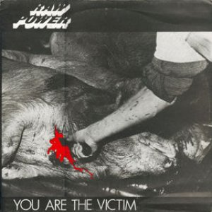 Image for 'you are the victim'