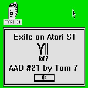 Image for 'Exile on Atari ST'