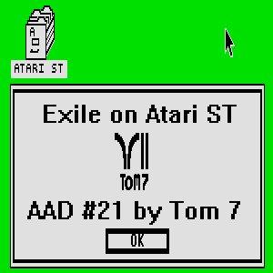 Image pour 'Exile on Atari ST'