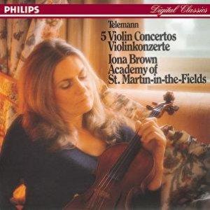 Image for 'Telemann: Five Violin Concertos'