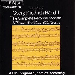 Image for 'HANDEL: Complete Recorder Sonatas'