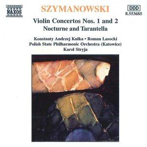 Image for 'SZYMANOWSKI: Violin Concertos Nos. 1 and 2'