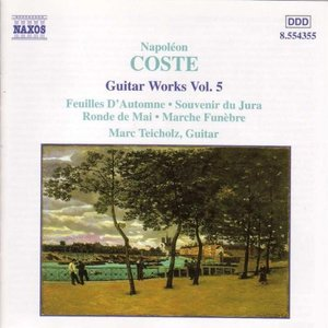 Image for 'Coste: Guitar Works, Vol. 5'