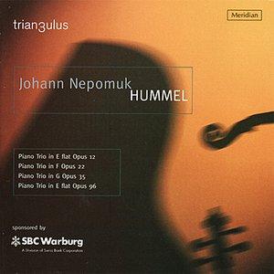 Immagine per 'Hummel: Piano Trios'