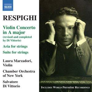 Image for 'Respighi: Violin Concerto in A major'