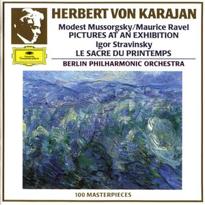 Image pour 'Karajan - Berliner Philharmoniker'