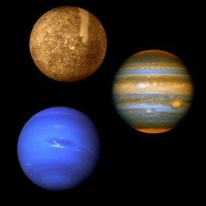 Image pour 'Merkur, Jupiter i Neptun'