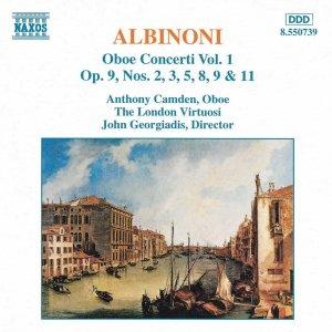 Image for 'ALBINONI: Oboe Concertos, Vol.  1'