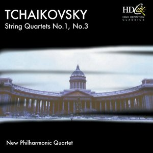 Immagine per 'Tchaikovsky : String Quartets (String Quartets No.1, No.3)'