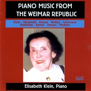 Image for 'Piano Music From The Weimar Republic'