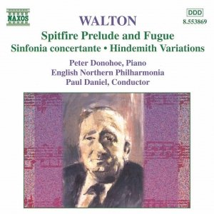 Image for 'WALTON:  Spitfire Prelude and Fugue / Sinfonia Concertante / Hindemith Variations'