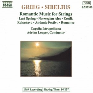 Image for 'GRIEG / SIBELIUS: Romantic Music for Strings'