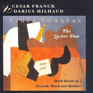 Bild für 'Franck: Violin Sonata (Arr. for Viola) / Milhaud: Viola Sonata No. 2 / Dvorak / Bloch / Babbitt: Viola Works'
