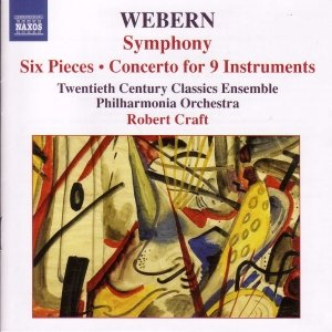 Image for 'WEBERN: Symphony, Op. 21 / Six Pieces, Op. 6 / Concerto for Nine Instruments, Op. 24'