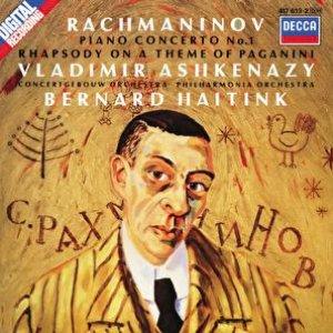 Bild för 'Rachmaninov: Piano Concerto No.1; Rhapsody on a Theme of Paganini'