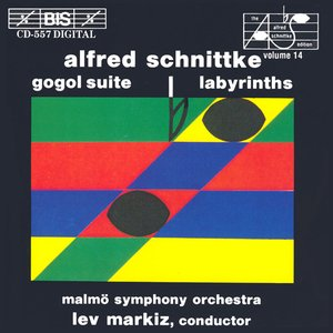 Image for 'Gogol Suite & Labyrinths (Malmö Symphony Orchestra feat. conductor: Lev Markiz)'